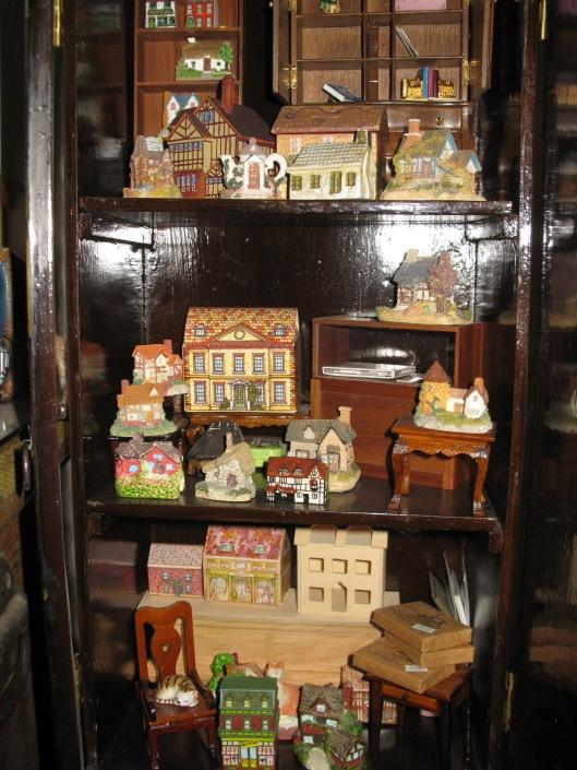 Dollhouse Shop in a Cupboard