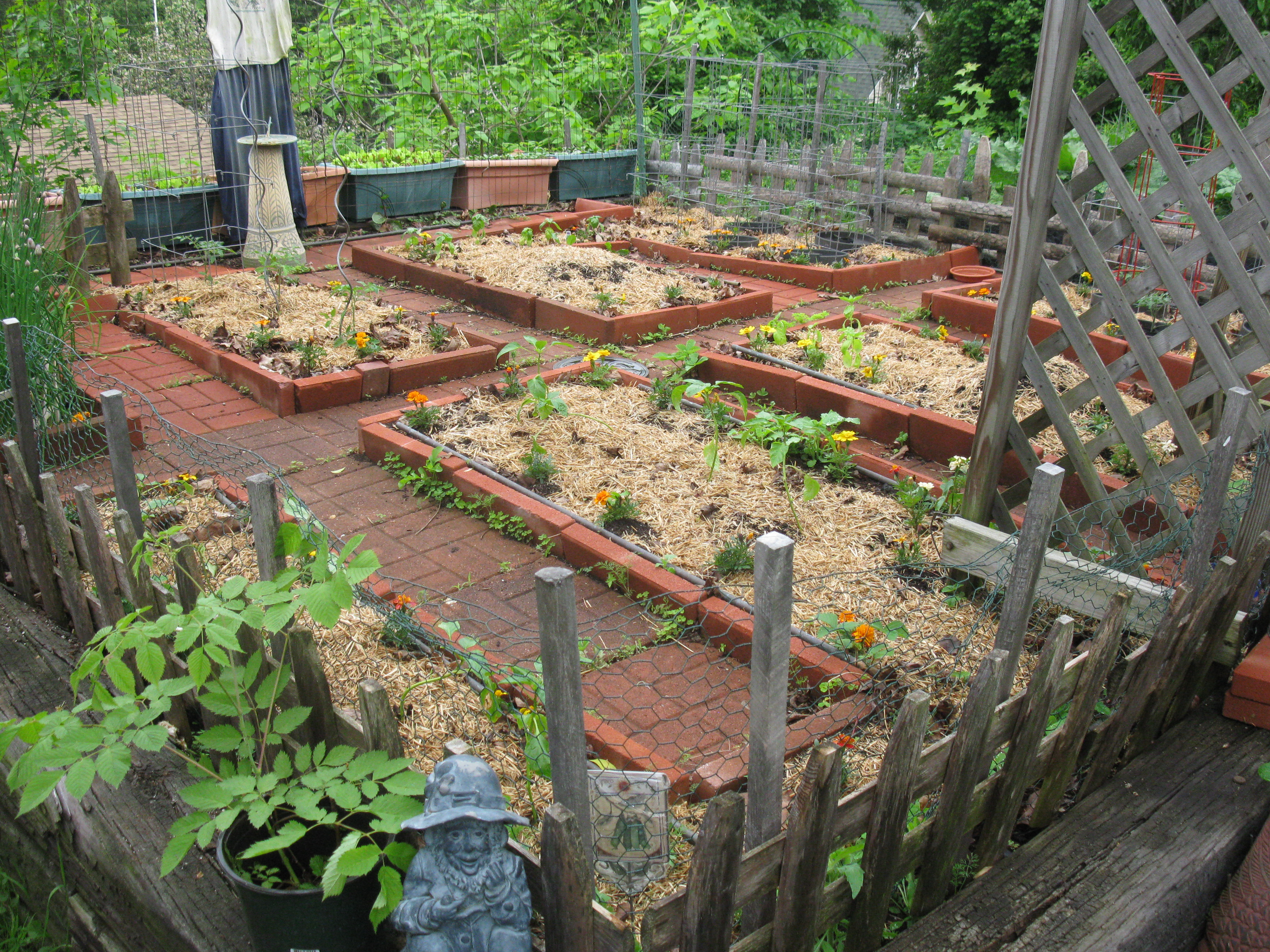 Small space vegetable gardening in new england dream new for New garden design