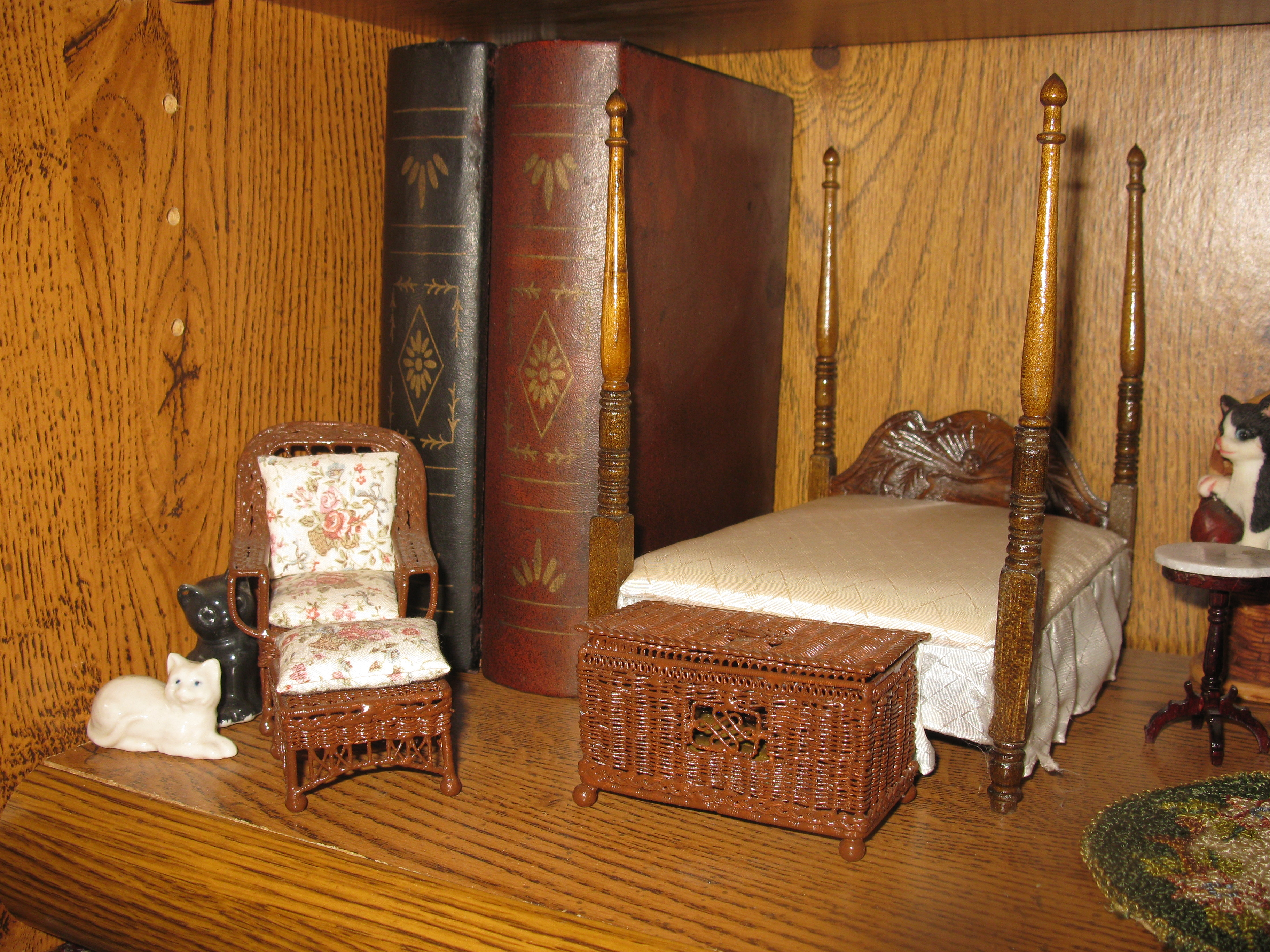 New England Bedroom Furniture Dressing Dollhouse Beds Dream New England