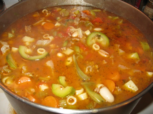 Pot of Minestrone