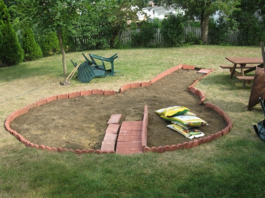 Cutting Garden Begun
