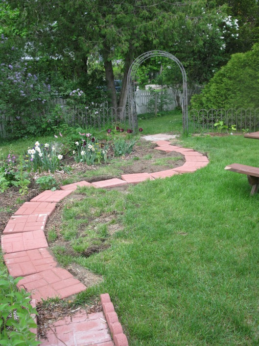 Garden Path Mid May 2013