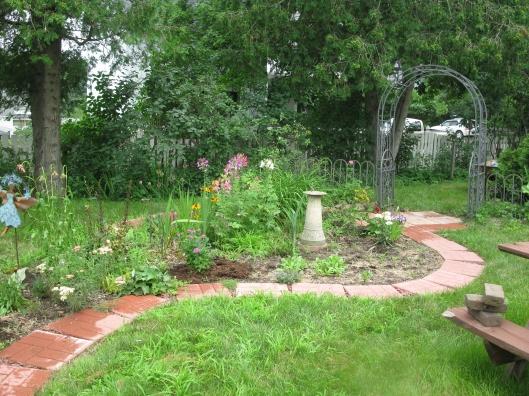 Lower Garden Mid July 2013