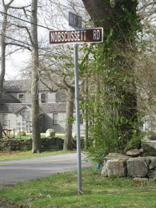 Nobscussett Sign